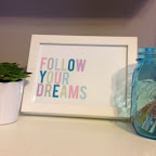 Follow Your Dreams Printable