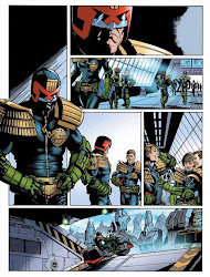 Judge Dredd by Lee Townsend