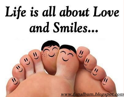 Life is about love and smile_]