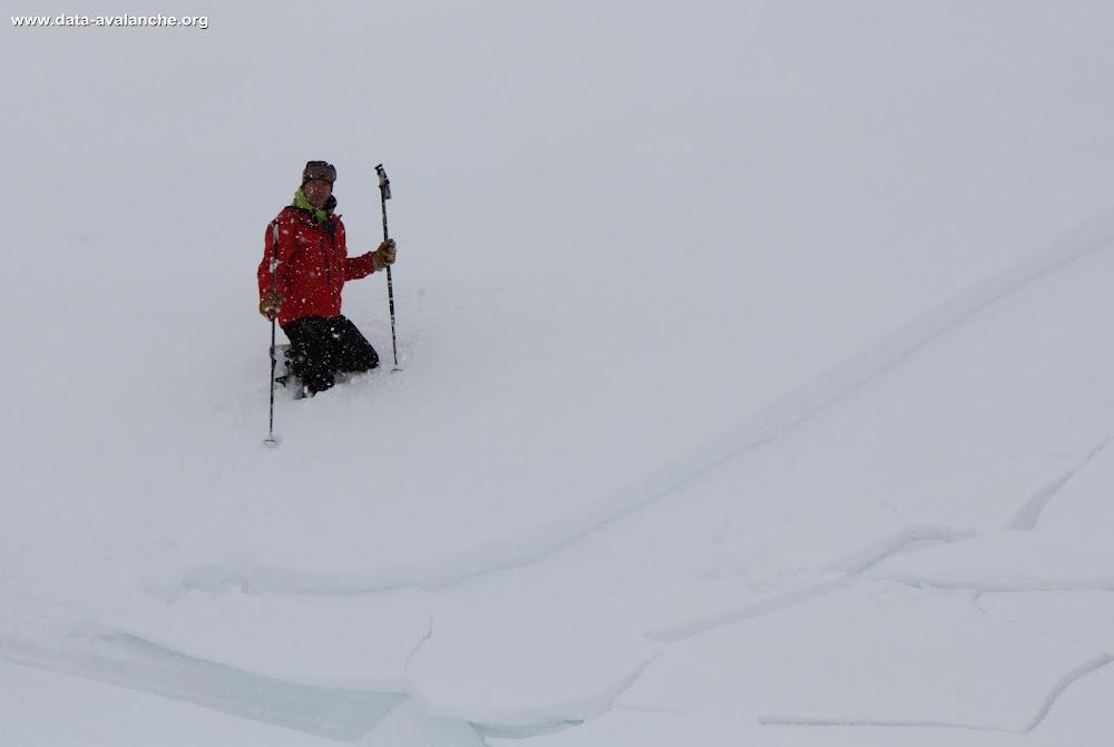 Avalanche Dévoluy, secteur Super Dévoluy, Bord de piste - Photo 1