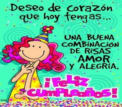 Felicitaciones de cumpleaños para hermanasa