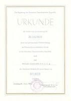 161b Pestalozzi-Medaille für treue Dienste in Silber www.ddrmedailles.nl