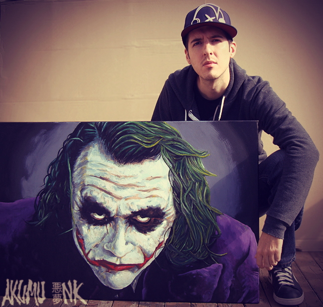comic book painting, joker mask, painting the joker, the joker painting, joker comic, batman painting, heath ledger joker painting, new jokercanvas, horror painting, superhero painting