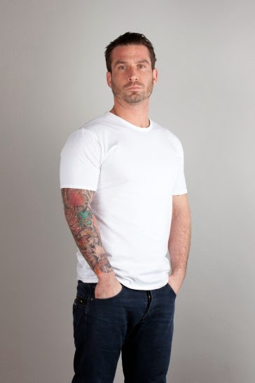 UK-made cotton T shirt in white 140gsm cotton - Unbranded Apparel make ethical T shirts