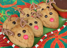 Thumbnail image for Peanutbutter Reindeer Cookies with Chocolate Pudding Dip