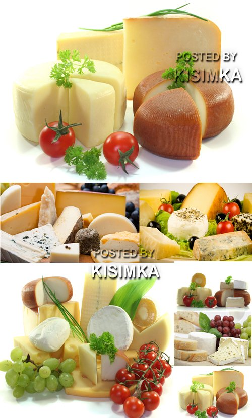 Stock Photo: Cheese assortment 3
