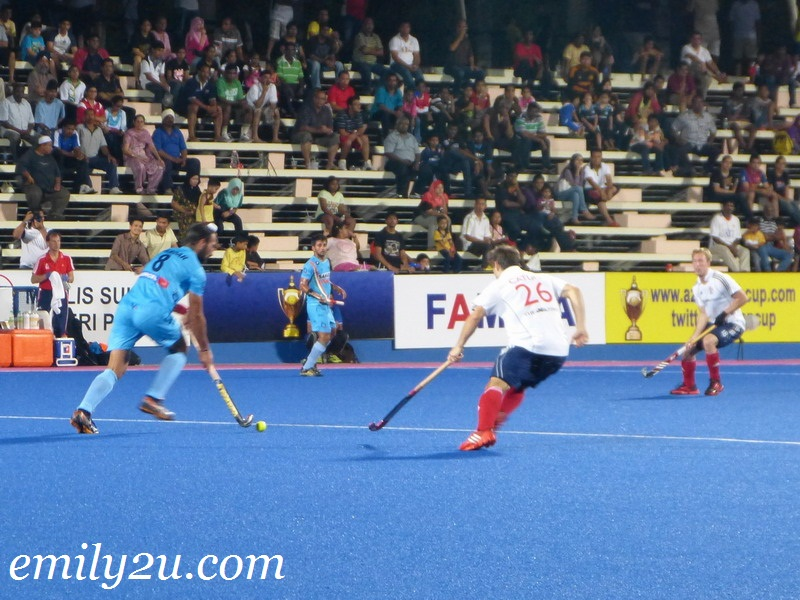 2012 Sultan Azlan Shah Cup - Match 9 - Great Britain vs. India