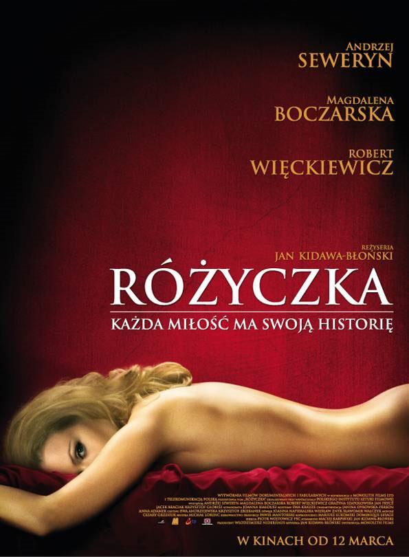 Polski plakat filmu 'Różyczka'
