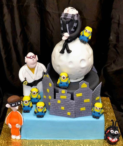 Despicable Me Birthday Cakes