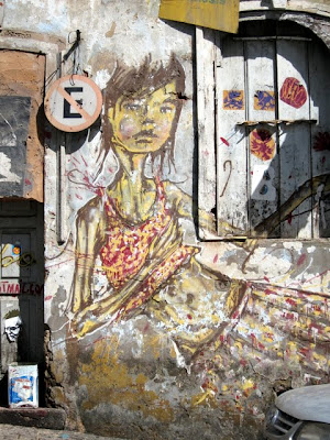 Street art in Salvador Brazil