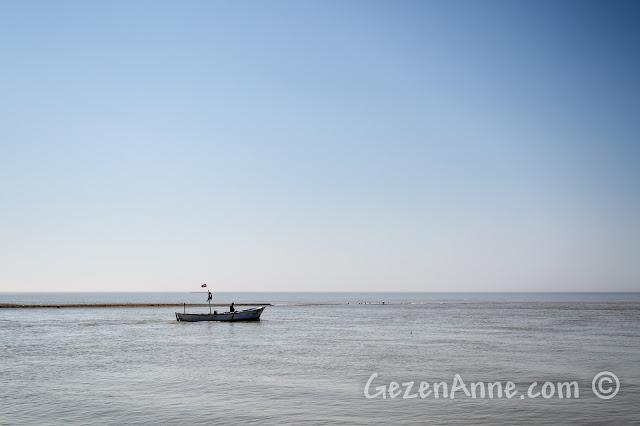 Sakarya, Karasu, Yenimahalle, Sakarya Nehri'nin denize döküldüğü nokta