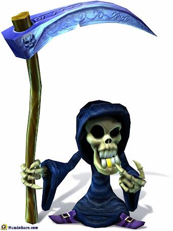 Gregg The Grim Reaper render del juego de xbox