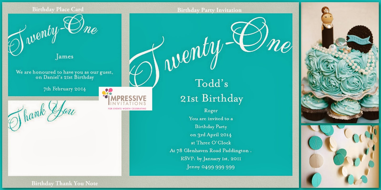 21st Birthday Invitations and Traditions / Invitations Ideas
