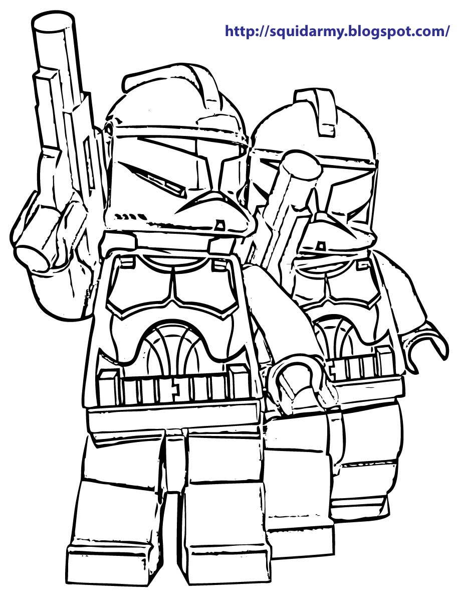 Star Wars Coloring Pages Free Printable Lego Clone – Dialogueeurope | 1188x918