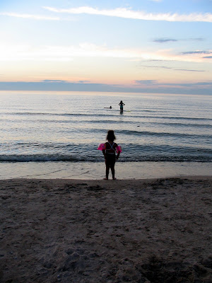 Swimming, Lake Michigan