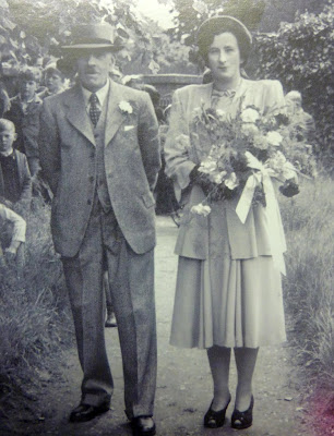 Mand Butler and her father Harry June 5 1948