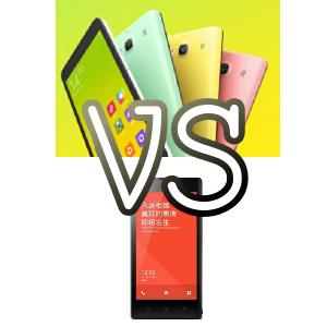 Perbandingan dan Perbedaan Spesifikasi Xiaomi Redmi 2 dengan Xiaomi Redmi 1s
