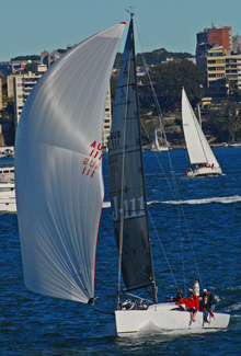 J/111 JAKE- one-design sailboat- sailing Sydney, Australia