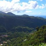 Investigations dans la vallée de Roseau (Dominique) dans Antilles Dominique