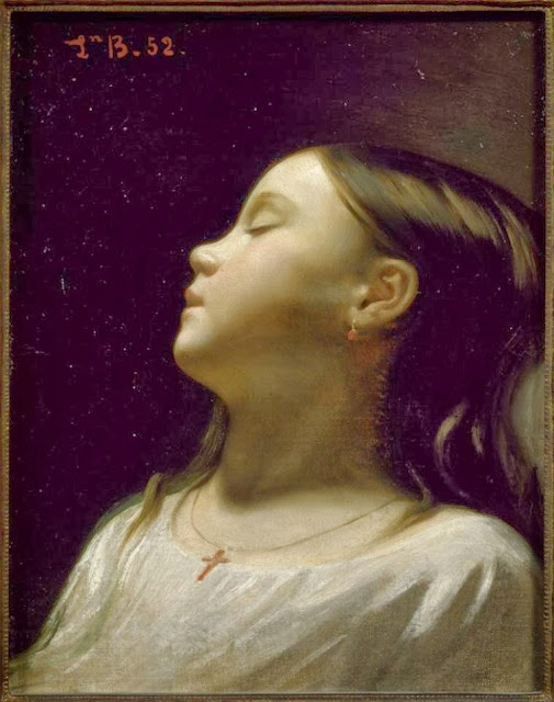 Léon Bonnat - Girl asleep