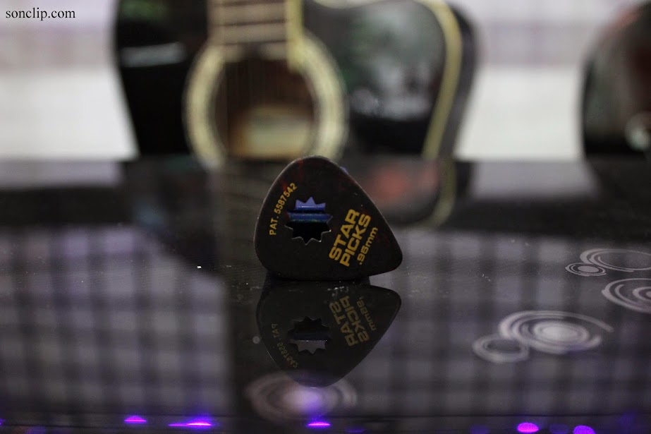 Miếng Gảy - Everly Star Grip Classic Picks (0.96 mm)