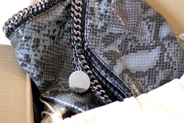 Stella McCartney Falabella bag faux python