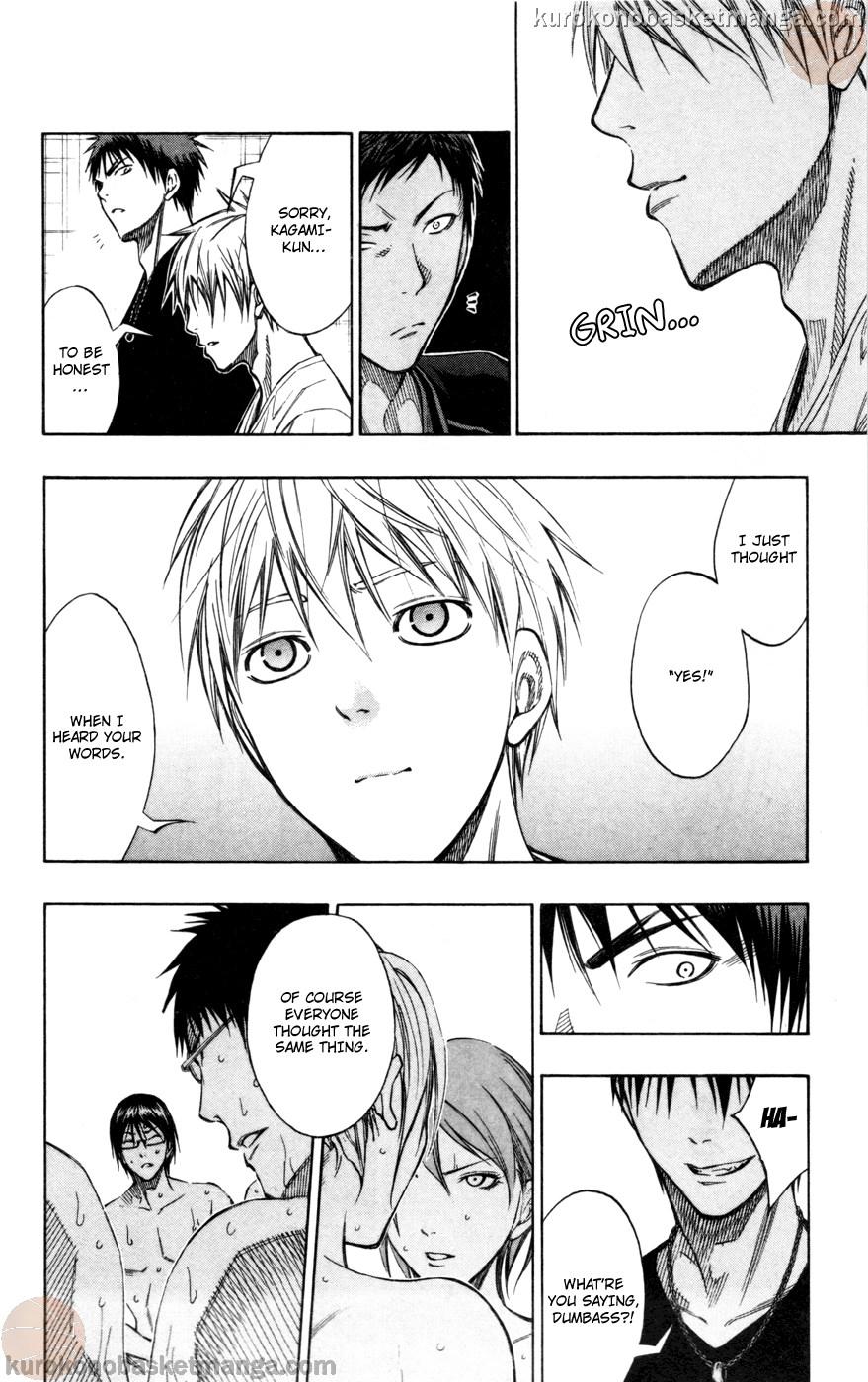 Kuroko no Basket Manga Chapter 110 - Image 18