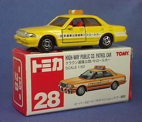 28-6 Toyota Crown Highway Public Co. Patrol Car To028-6toyotacrownhiwaypubliccopatrolcar