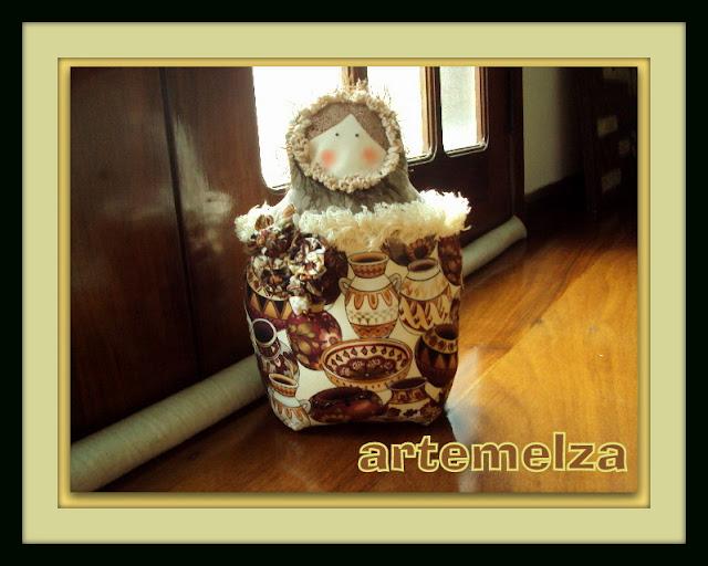 artemelza - peso de porta matrioska