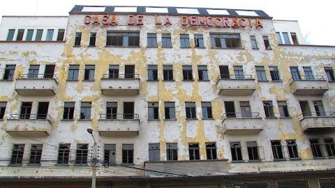 La Casa de la Democracia, otrora sede de ADN en La Paz