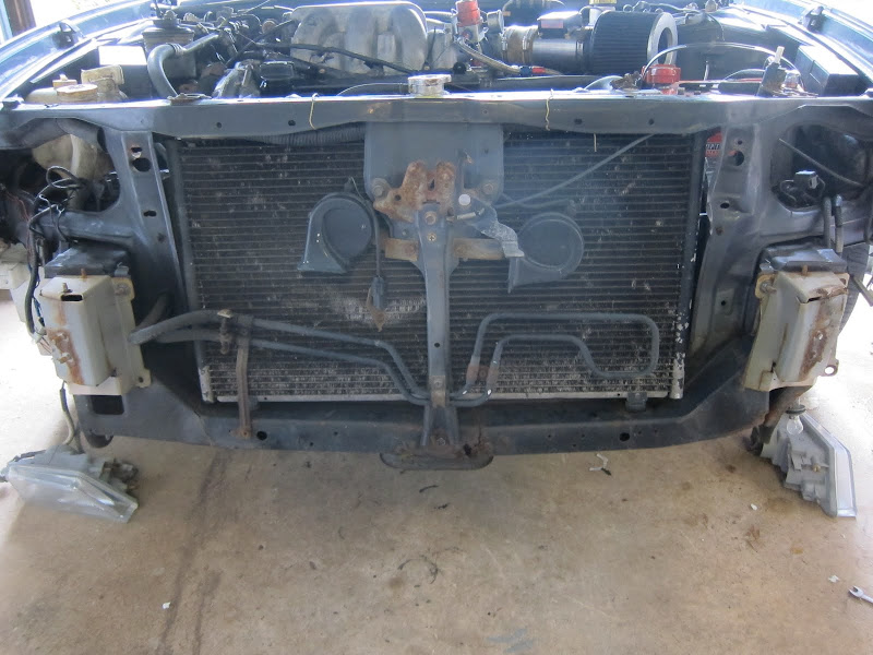 Nissan Maxima Radiator Support Replacement