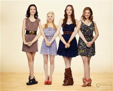 Bunheads: Sasha, Boo, Mel and Ginny