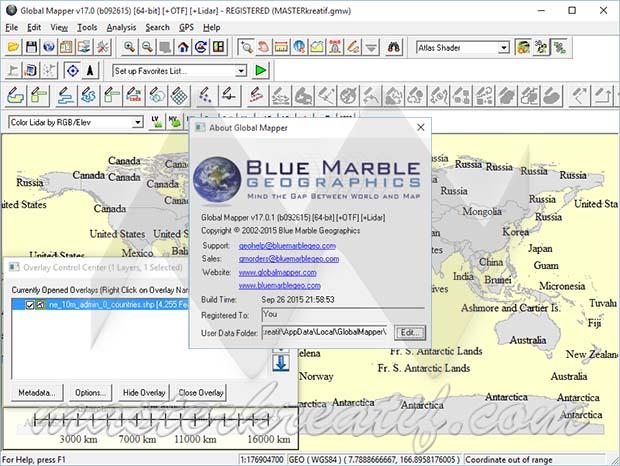 Global Mapper 17