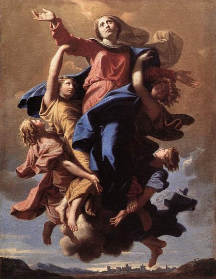 Nicolas Poussin-The Assumption of the Virgin