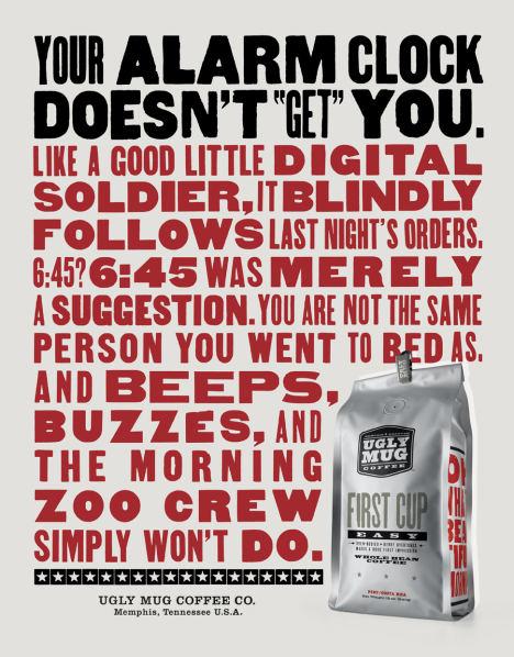 marketing, advertising, communications: Ugly Mug Coffee