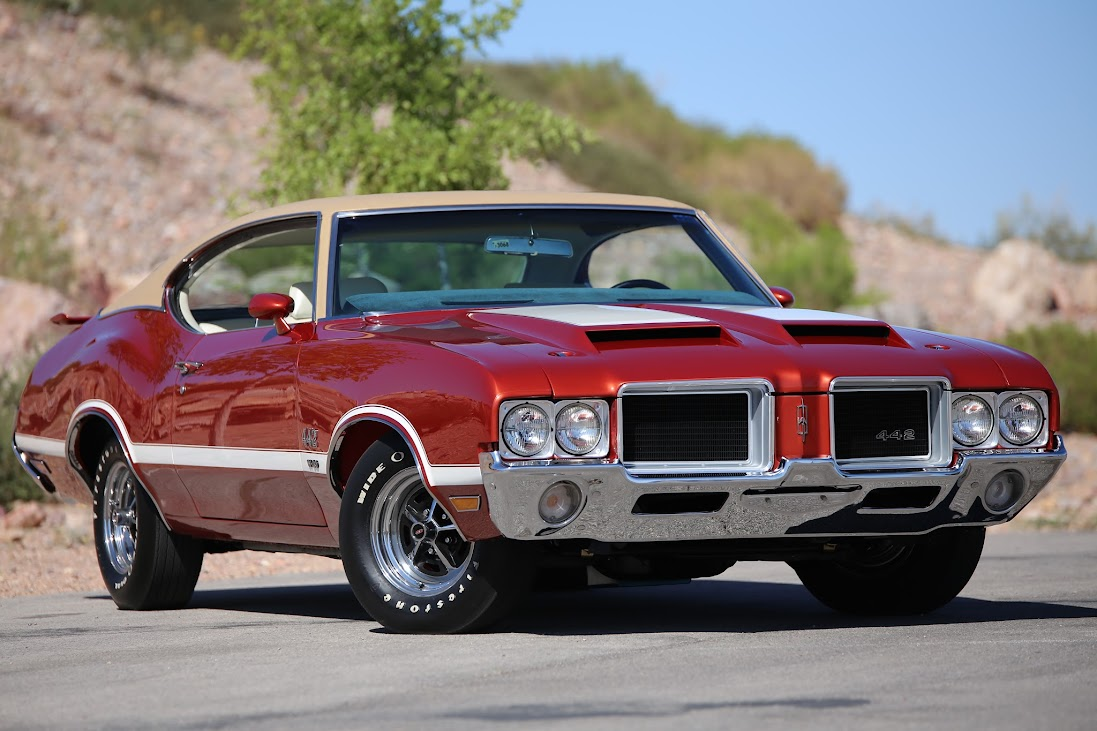 Find Used Documented Concours Quality 1971 Oldsmobile 442