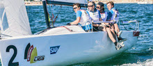 J/70s sailing in Bundesliga Germany