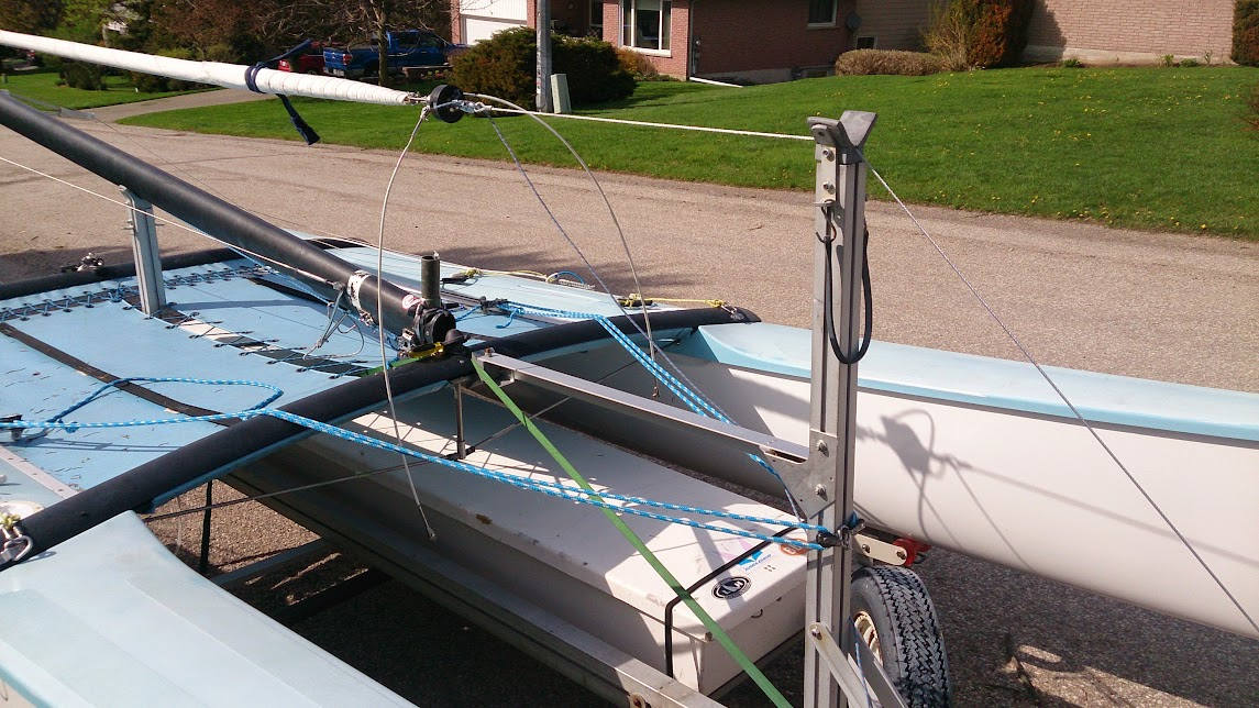 Hobie Forums • View topic - stepping the mast