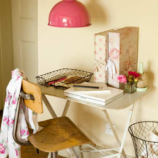 Bubblegum Pink light fixture on Moderncountrystyle