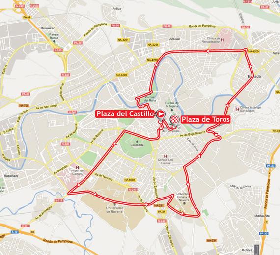 La Vuelta 2012. Etapa 1. Pamplona – Pamplona. @ Unipublic