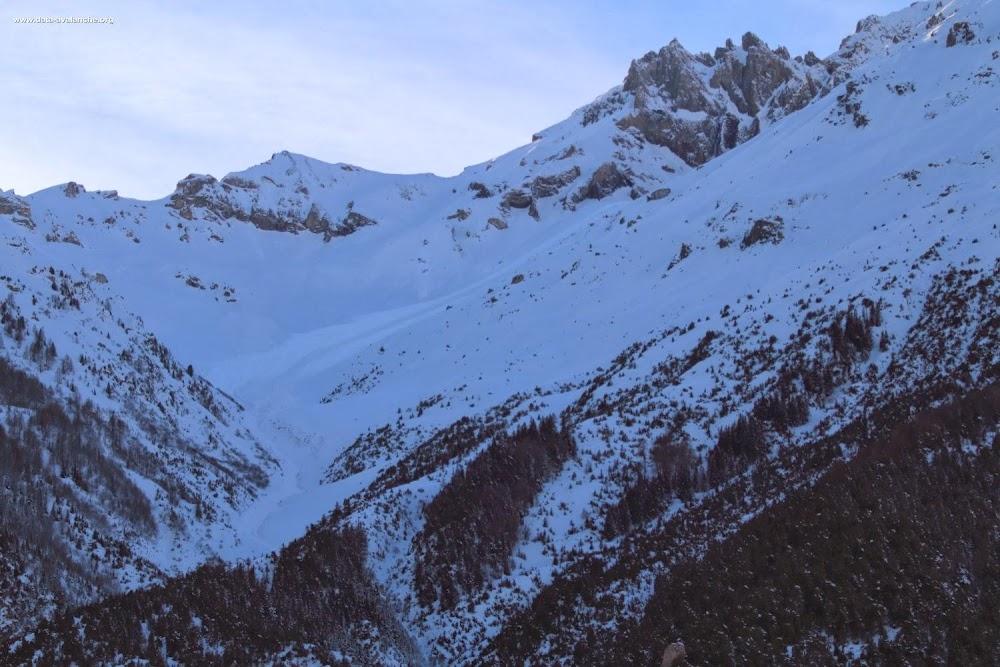 Avalanche Haute Maurienne, secteur Dent Parrachée, Combe de Bonne Nuit - Col des Hauts - Photo 1