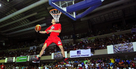 2013 PBA All-Star Weekend – SlamDunk Competition – Winner, Chris Ellis