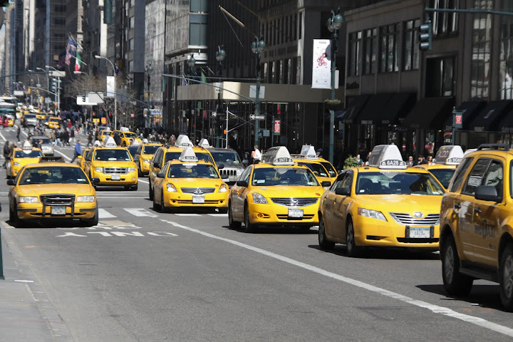 Yellow Cab, Taxi a New York