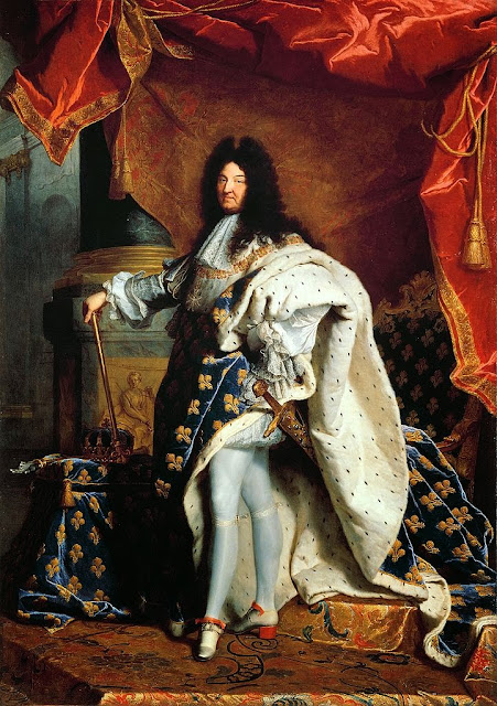 Hyacinthe Rigaud - Portrait of Louis XIV of France in 1701