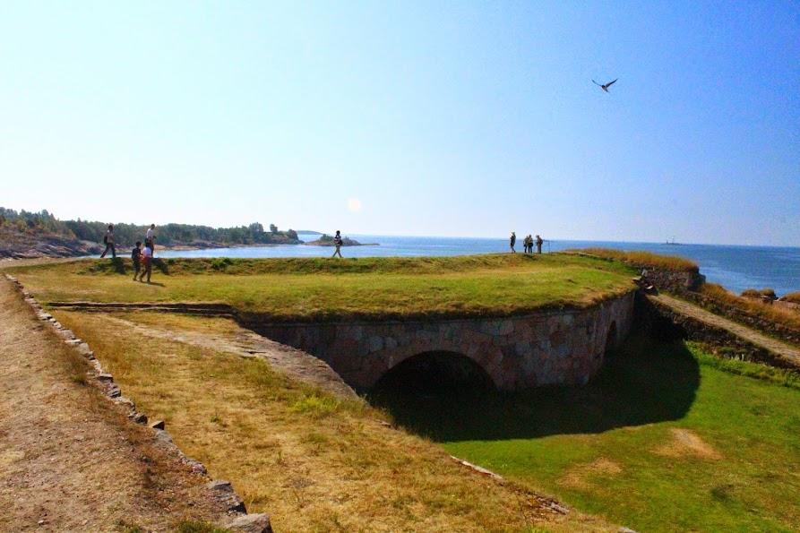 suomenlinna fort shape