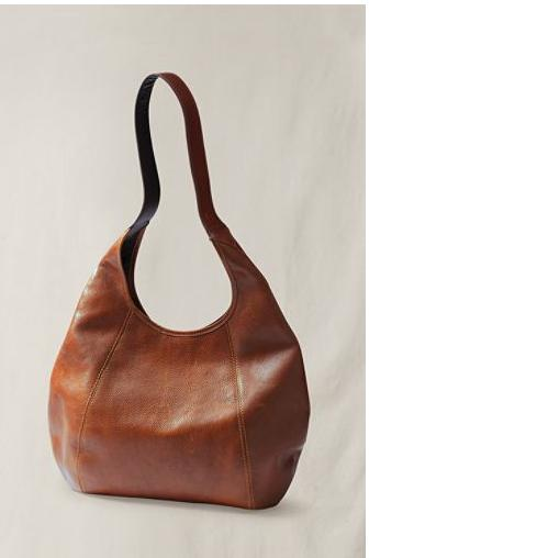Bag Giveaway Cognac Brown Leather Hobo from Lands' End Canvas ...