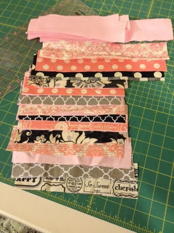 scrap fabric christmas stocking layout