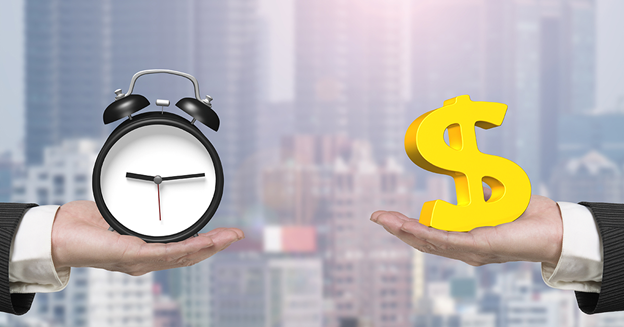 Waktu dan uang harus diperhitungkan