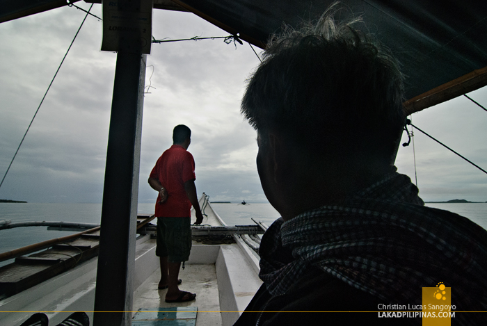 Dreary Weather for Island Hopping in Matnog, Sorsogon