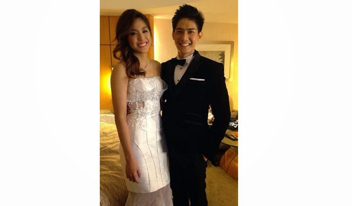 Gretchen Ho and Robi Domingo